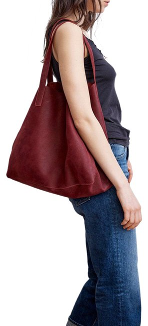 Item - Clover Burgundy Leather Tote