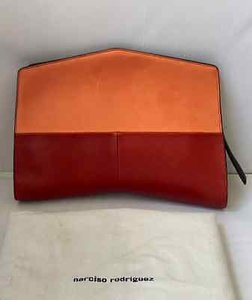 Narciso Rodriguez Natural Nude/Red Clutch