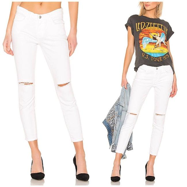Item - White Current/Elliot The High Waist Stiletto In Skinny Jeans Size 25 (2, XS)