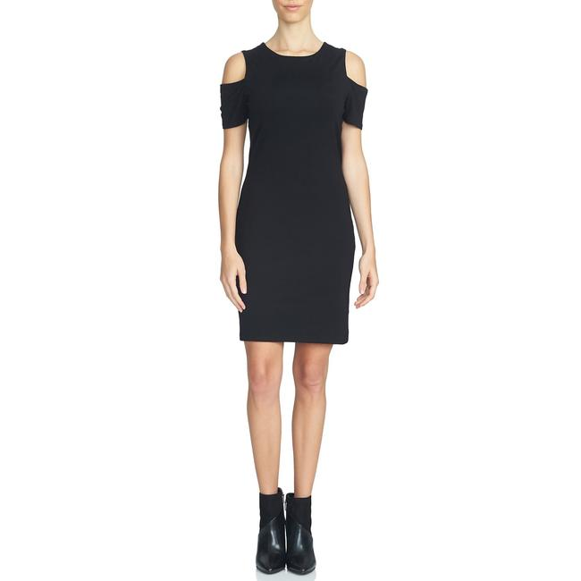 Item - Black Cold Shoulder Body-con Short Night Out Dress Size 10 (M)