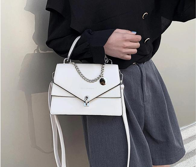 Item - Qianyi Black White Bleu Green Weight: 0.55 Kg (About). Tote