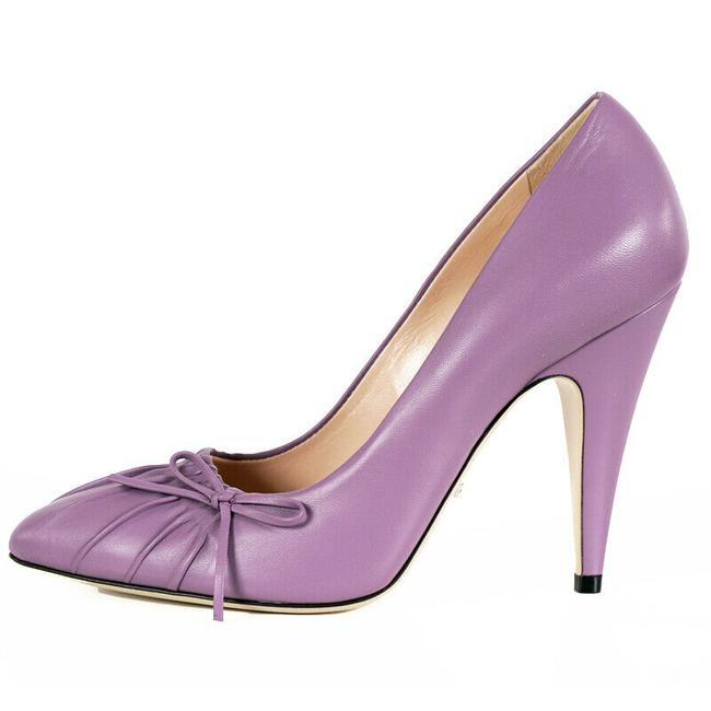 Item - New Lavender Nappa Charlotte Leather Pointed Pumps Size EU 38 (Approx. US 8) Regular (M, B)