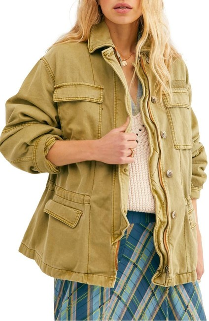 Item - Green The Day Utility Jacket Size 4 (S)
