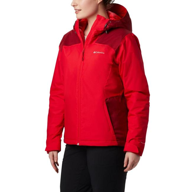 Item - Red Tipton Peak Hooded Insulated Jacket Coat Size 4 (S)