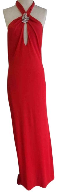 Item - Red Gown Long Formal Dress Size 12 (L)