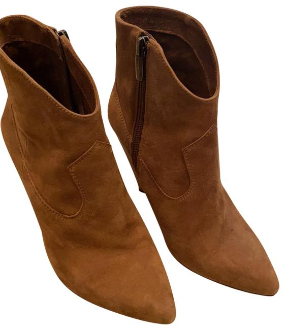 Vince Camuto Tan Boots/Booties Size US 5.5 Regular (M, B) Vince Camuto Tan Boots/Booties Size US 5.5 Regular (M, B) Image 1