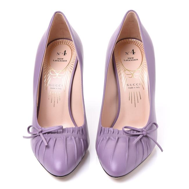 Item - New Lavender Nappa Charlotte Leather Pointed Pumps Size EU 39 (Approx. US 9) Regular (M, B)