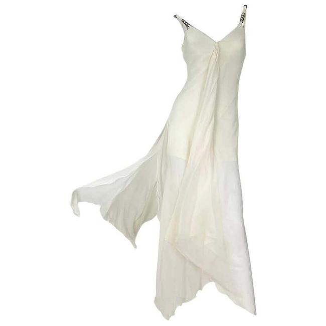 Item - Vanilla Iconic Vintage 1995 Gianni Campaign Long Night Out Dress Size 8 (M)