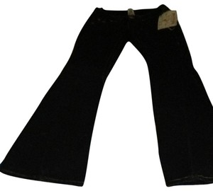 True Religion Corduroy Jeans Flare Pants black