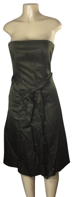 Item - Olive Sexy Mid-length Cocktail Dress Size 4 (S)
