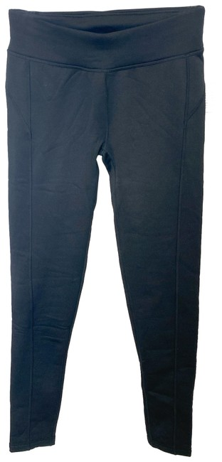 Item - Black Thick Fleece Lined Activewear Bottoms Size 4 (S, 27)