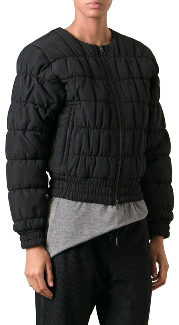 Item - Black Bomber Puffer Activewear Outerwear Size 2 (XS)