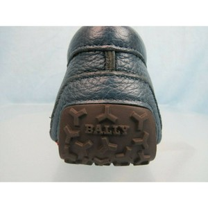 Bally Green 51700 Piotre Prusse 19 Blue Deer Grained Shoes