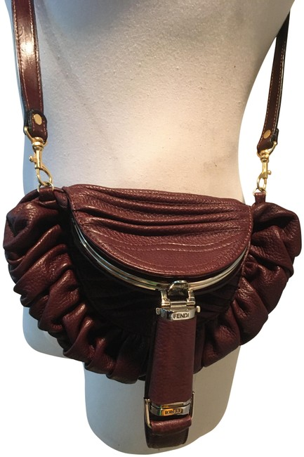 Item - Limited Edition Zucca Spy Brown Leather Hobo Bag