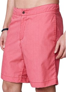 Faherty Brand Red Shorts