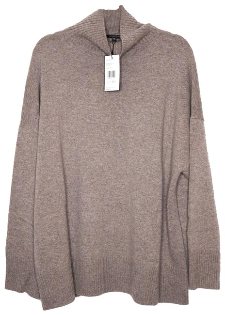 Item - Portobello L Relaxed Cashmere Turtleneck Brown Sweater
