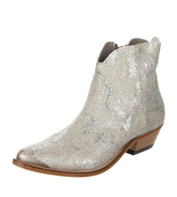 Item - Silver Limited Series Wester Boots/Booties Size US 8 Regular (M, B)