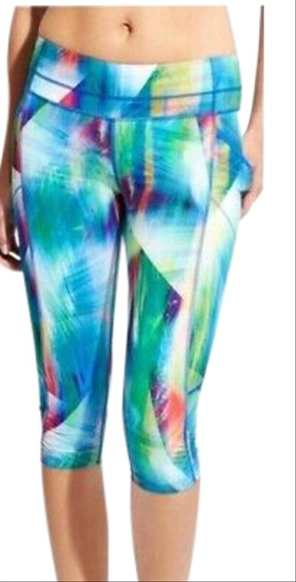 Item - Blue Dobby Be Free Activewear Bottoms Size 4 (S)