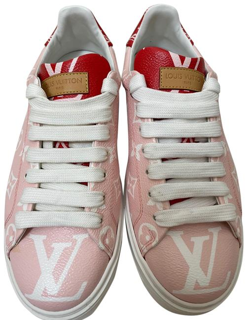 Item - Pink Patent Monogram Time Out 1a58b1 Rose/Rouge Sneakers Size EU 39 (Approx. US 9) Regular (M, B)