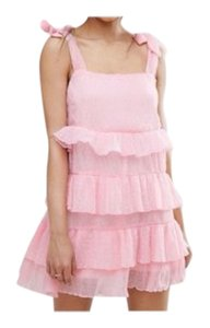 Missguided short dress pink on Tradesy