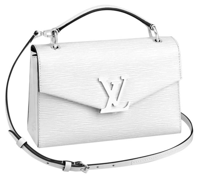 Item - Pochette Grenelle White Epi Leather Baguette