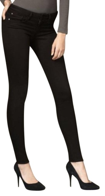 Item - Black Mid-rise Visionaire Skinny Jeans Size 25 (2, XS)