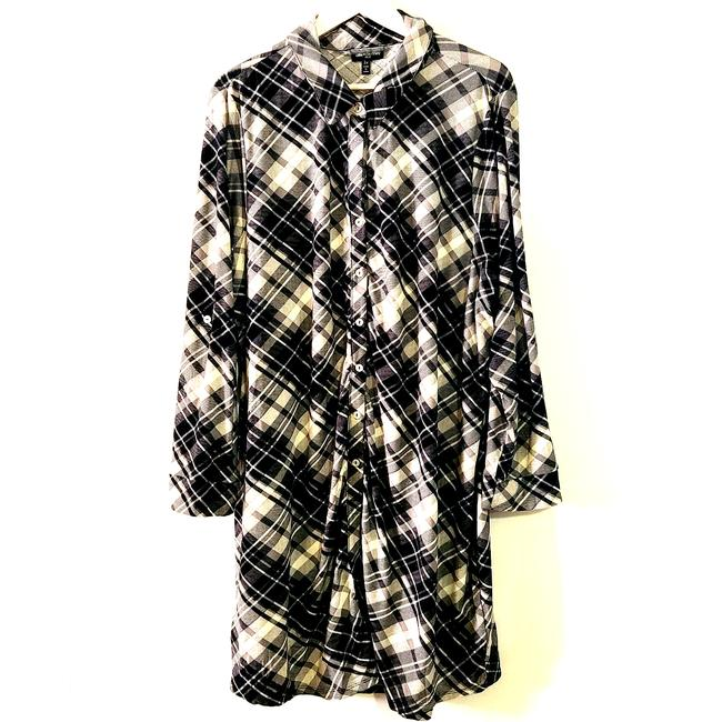 Item - Multicolor Nwot Womens Button Down Plaid 3x 502 Short Casual Dress Size 26 (Plus 3x)