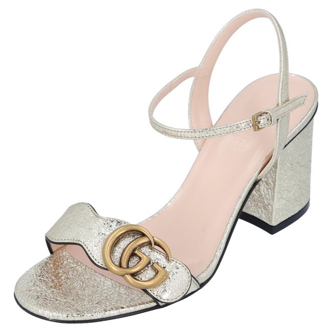 Item - Silver 453379dkt007100 Pumps Size EU 35 (Approx. US 5) Regular (M, B)