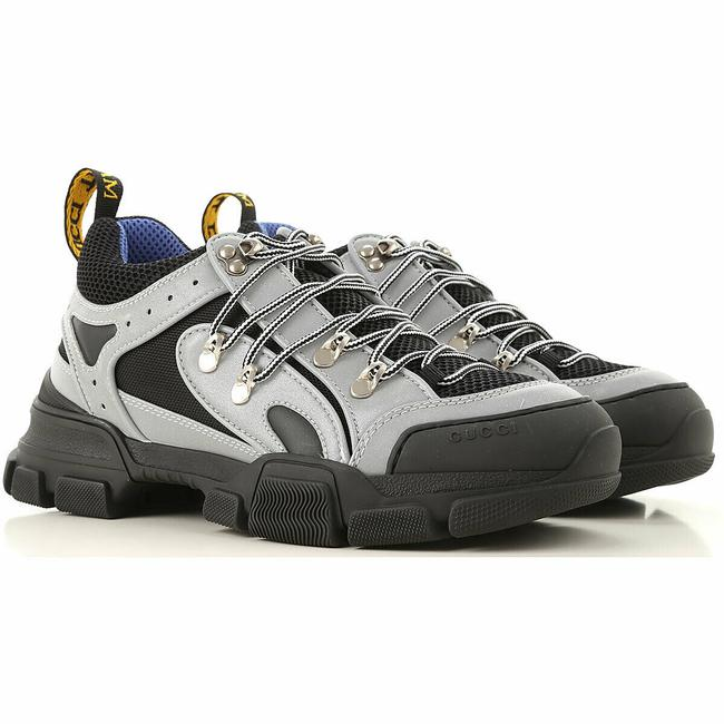 Item - Gray 'reflective Grey' Mens Stretch Fabric Sneaker 10g/Us 10.5 543162 Shoes