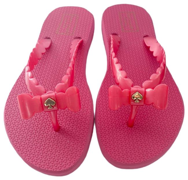 Item - Pink Denise Sandals Size US 7 Regular (M, B)