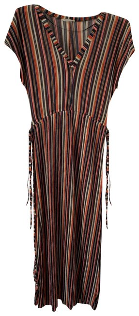 Item - Multi-color Slinky Long Casual Maxi Dress Size 4 (S)