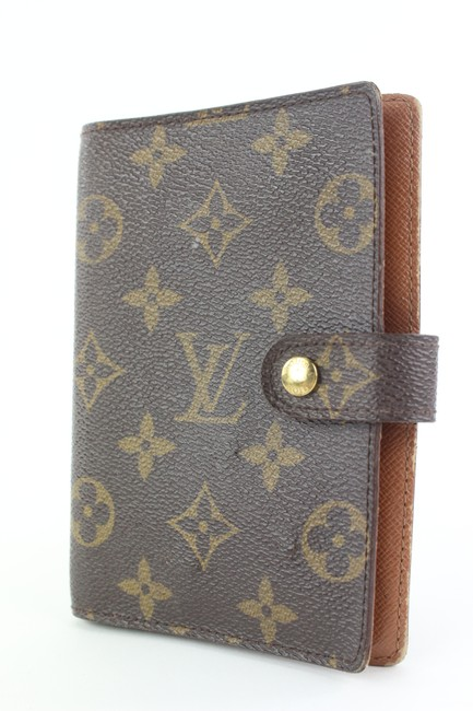 Item - Brown Monogram Small Ring Agenda Pm Diary Cover 547lvs310 Wallet