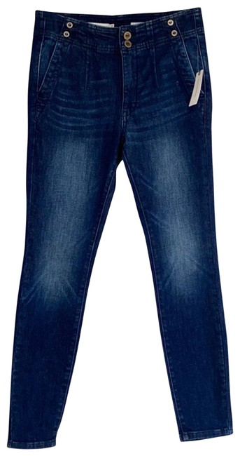 Item - Pilcro and The Letterpress Blue Na Skinny Jeans Size 6 (S, 28)