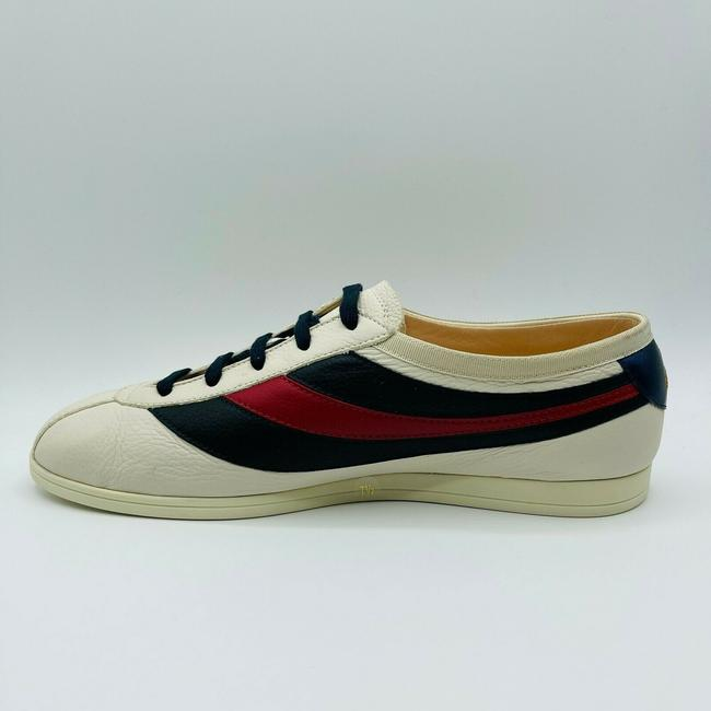 Gucci White Mens Leather Red Blue Web Sneaker Eu 15g/Us 15.5 483266 9068 Shoes Gucci White Mens Leather Red Blue Web Sneaker Eu 15g/Us 15.5 483266 9068 Shoes Image 4