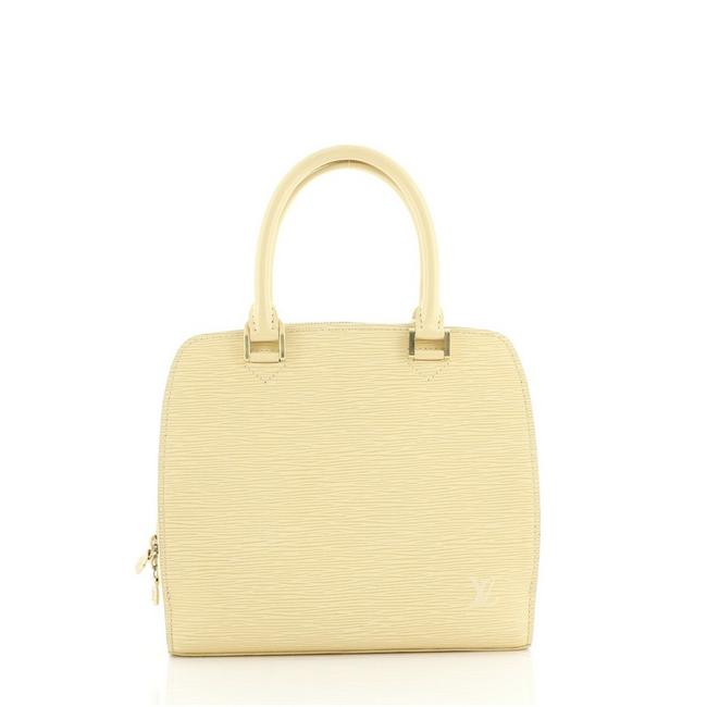 Item - Pont Neuf Handbag Epi Pm Yellow Leather Tote