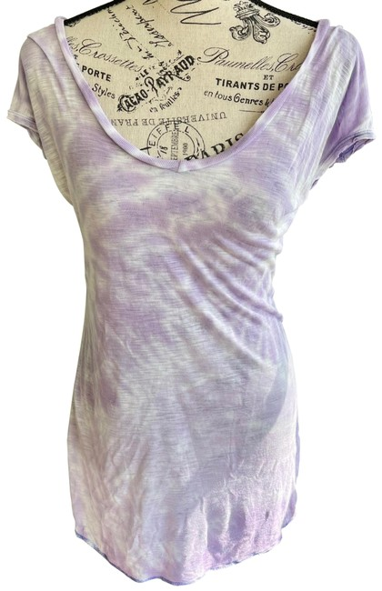 Item - Tyedye Girlfriend Tee Shirt Size 6 (S)