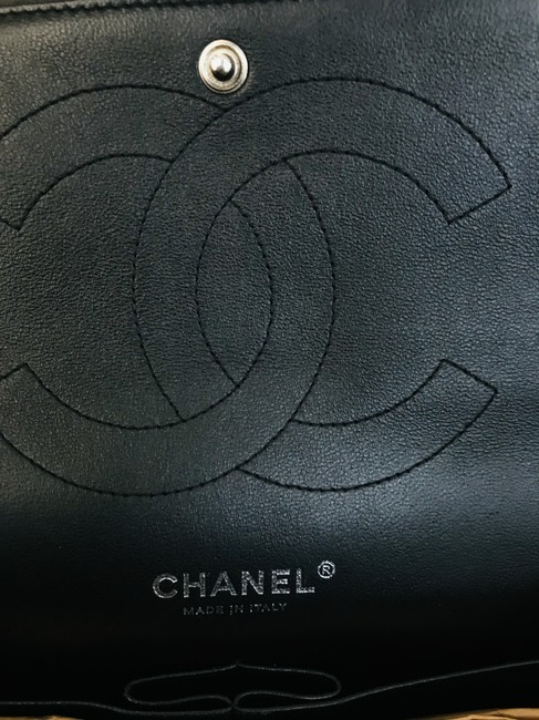 Chanel Classic Double Flap Quilted Jumbo Black Patent Leather Shoulder Bag Chanel Classic Double Flap Quilted Jumbo Black Patent Leather Shoulder Bag Image 11