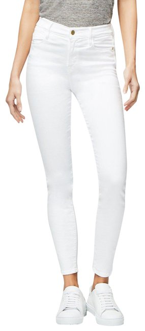 Item - Blanc White Le High Rise Skinny Jeans Size 24 (0, XS)