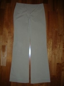 Theory Flare Pants Tan
