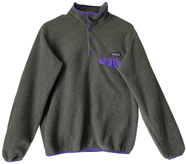 Item - Grey Pullover Jacket Size 6 (S)