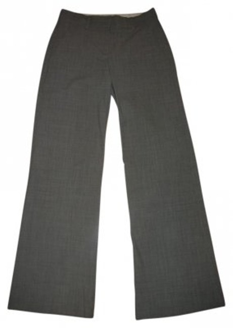 Theory Wide Leg Pants Light Grey
