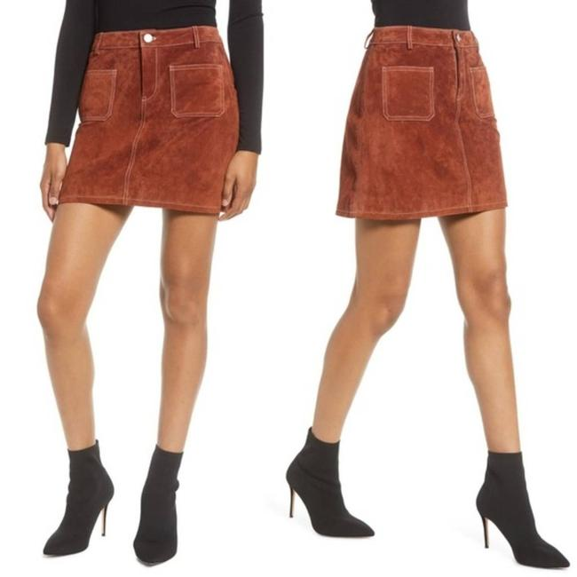 Item - Brown Suede Tobacco High Rise A-line Skirt Size 10 (M, 31)
