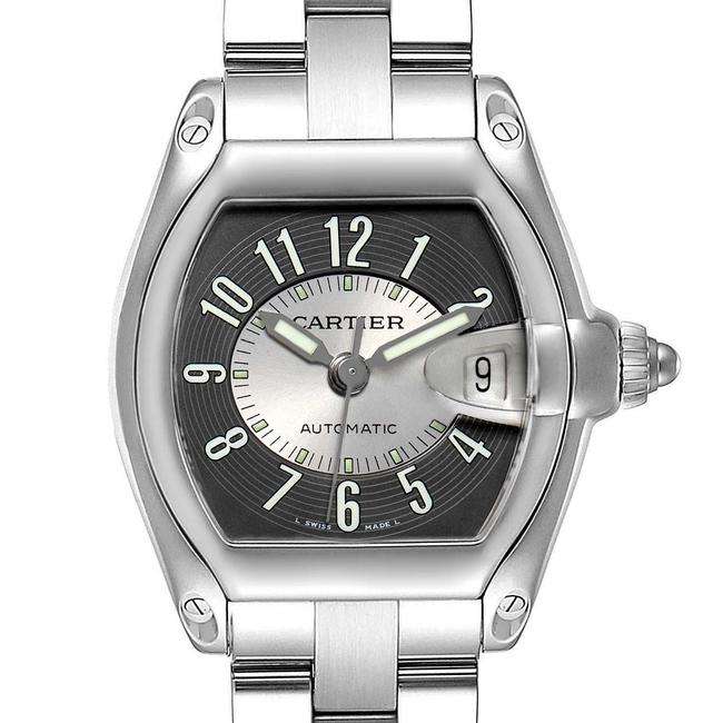 Item - Gray and Silver Roadster Tuxedo Dial Steel Mens W62001v3 Watch