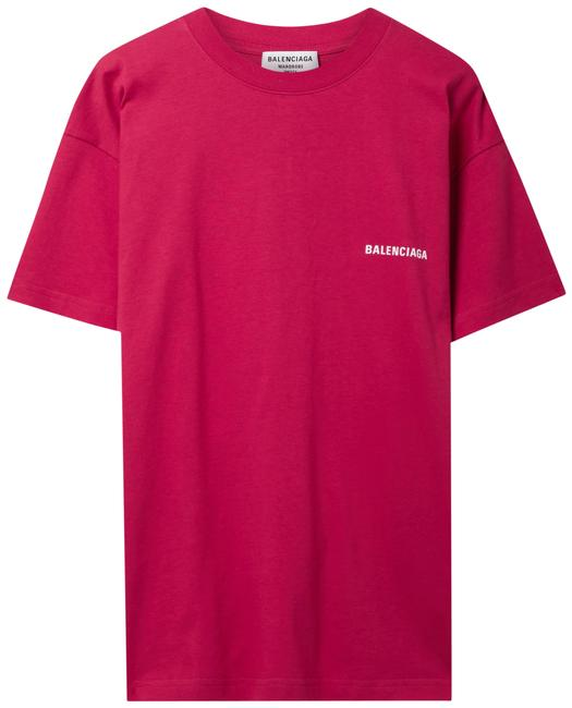 Item - Red Jersey Printed Cotton-jersey T-shirt Tee Shirt Size 12 (L)
