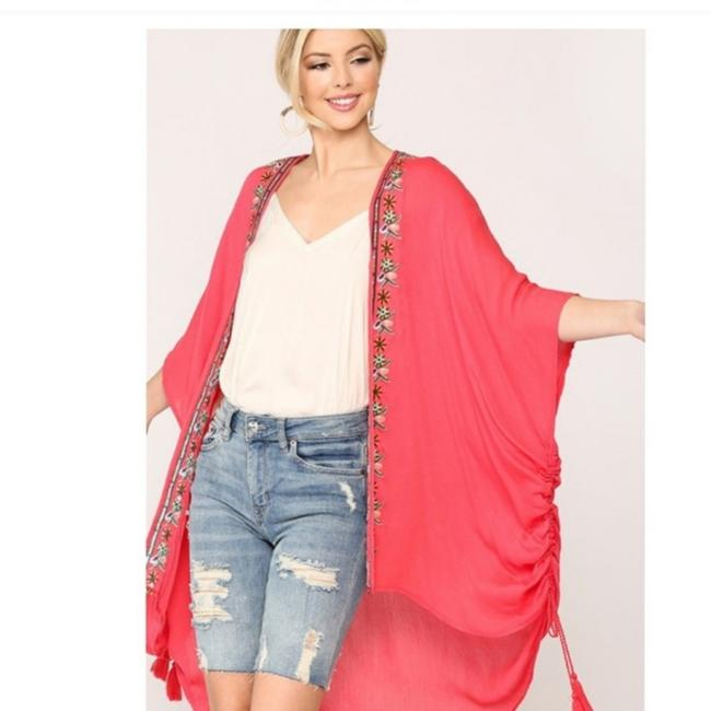 Item - Coral Duster Poncho/Cape Size 10 (M)