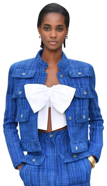 Item - White XL Sold Out Cruise 2020 Cotton Bow 20c Bustier Crop Tank Top/Cami Size 0 (XS)