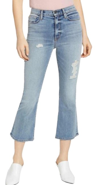 Item - Blue Light Wash Holly High New Capri/Cropped Jeans Size 31 (6, M)
