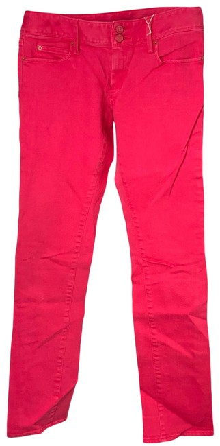 Item - Pink Worth Straight Leg Jeans Size 6 (S, 28)