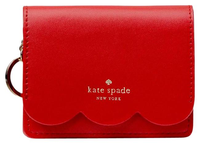 Item - Red/Beige Ny Piper Magnolia St Wallet