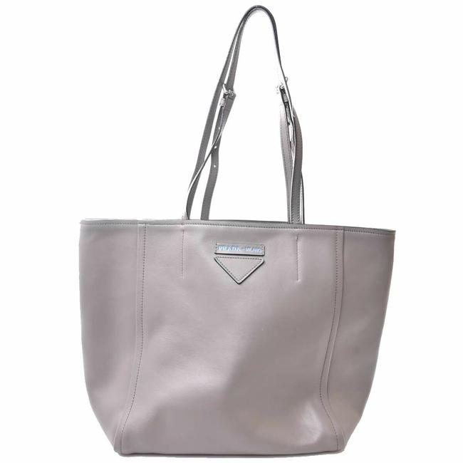 Item - Bag Concept Shopper Gray Leather Tote